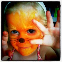 The fun we have when we facepaint!
