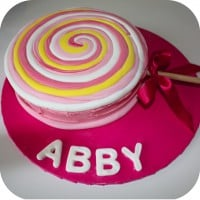 Quick & Easy Lollipop Birthday Cake