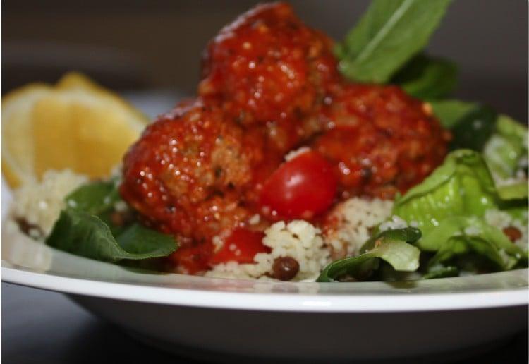 Lamb & Fetta Meatballs