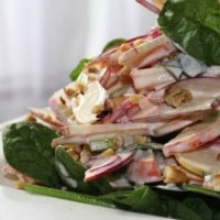 Waldorf Salad – the not so naughty version!