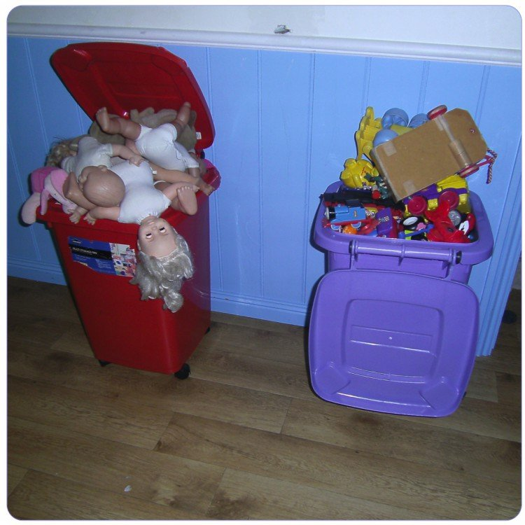 silvialee reviewed Storage solutions for toys; it's time to put the toys away!