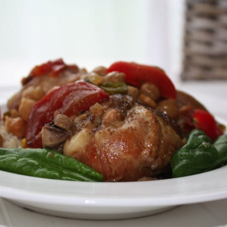 Slow Cooker Inspiration: Cheap & Cheerful Chicken & Chick Peas