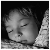 Getting children to sleep ... peacefully.