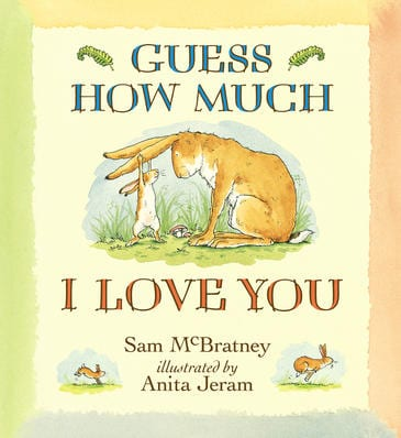 Win 1 of 5 Guess How Much I Love You prize packs!