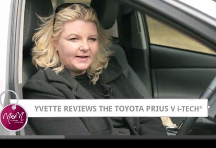 Yvette reviews the Toyota Prius V