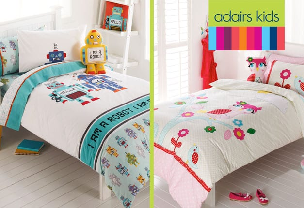 Win 1 of 5 Adairs Kids Quilt Covers.