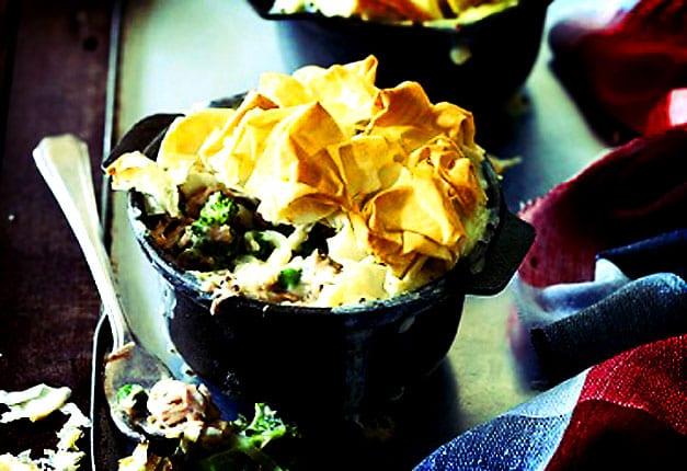 Tuna And Broccoli Pies