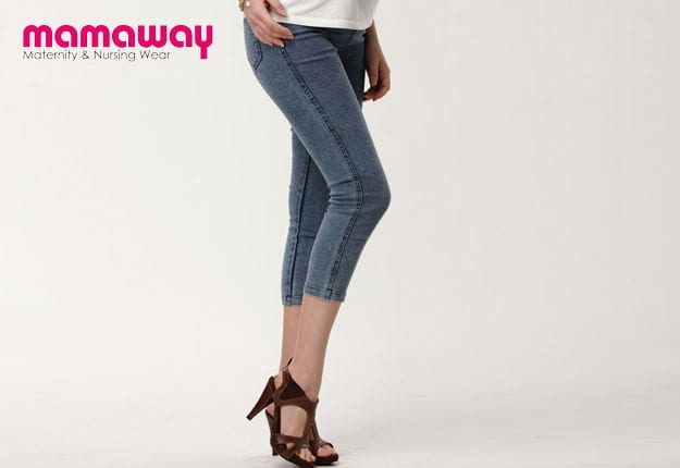 Win 1 of 5 pairs of Mamaway Maternity Jeans!
