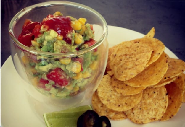 Corn and Lime Salsa – perfect with a Mojito!