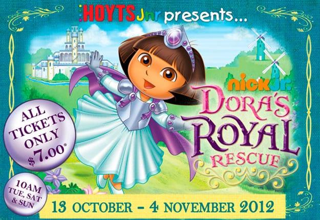 Win 1 of 5 Dora's Royal Rescue prize packs