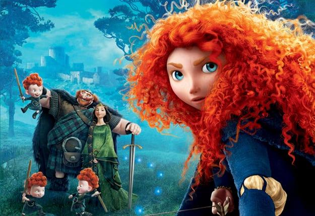 Win 1 of 6 Disney Pixar's Brave Prize Packs!
