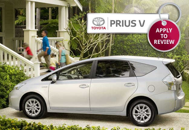 Where would your family go in a Toyota Prius v?