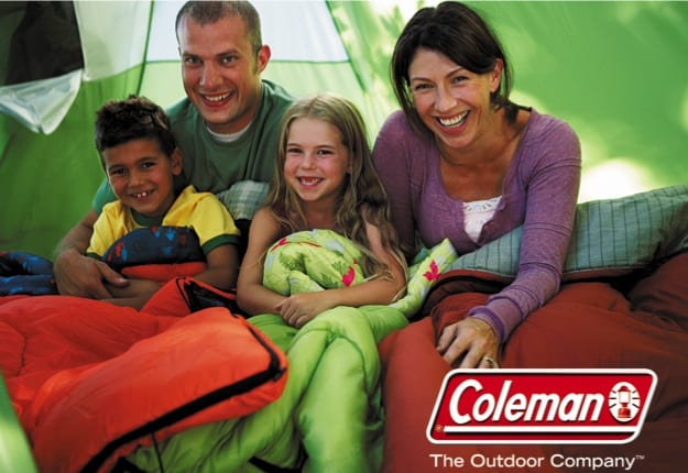 Win a Coleman Glamping Pack worth over $700.
