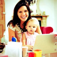 Juggling the ' working from home ' mum balls