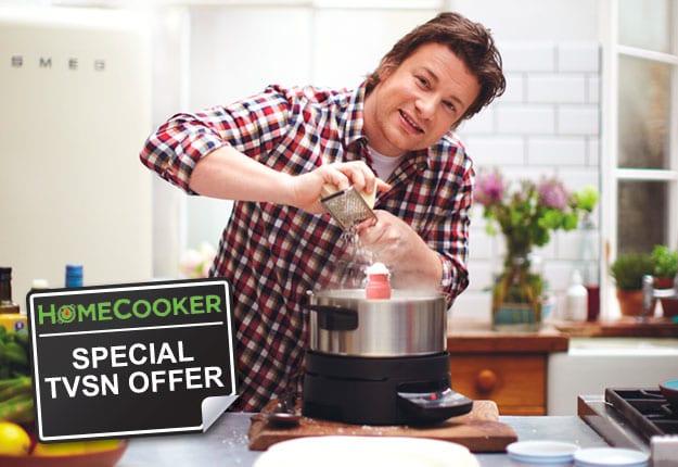 TVSN – Jamie Oliver HomeCooker special offer.