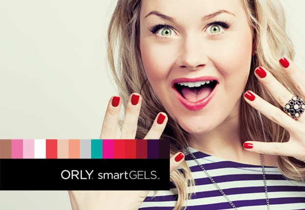 Gel nails from ORLY SmartGELs