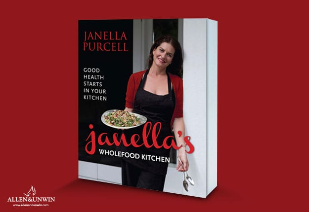 Win 1 of 20 copies of 'Janella's Wholefood Kitchen' by Janella Purcell