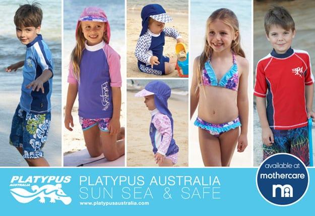 Win 1 of 11 Platypus Australia Rash Shirts and swimwers sets