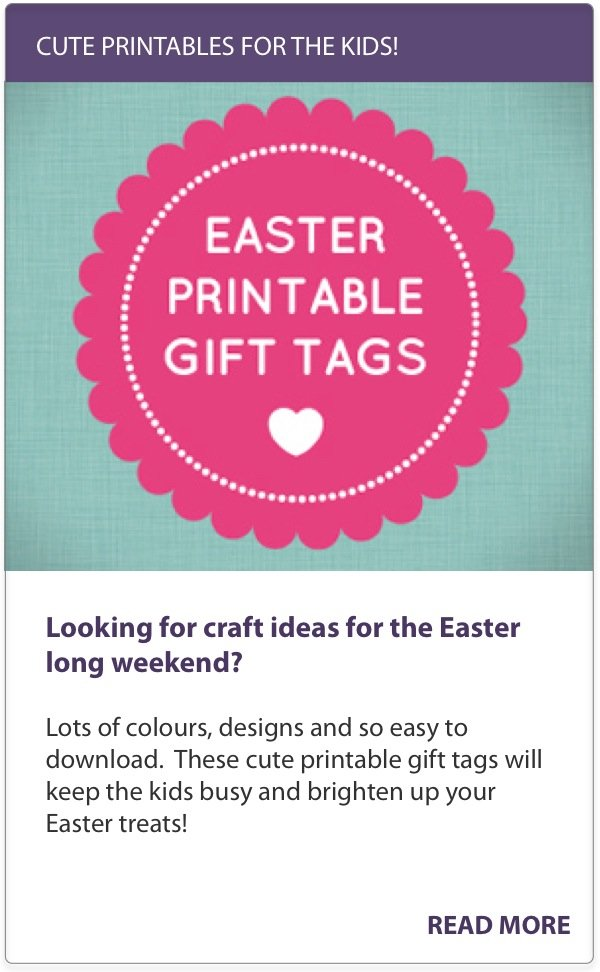 Easter Printables for Kids_Printable Gift Tags_Mouths of mums
