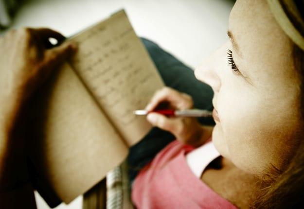 Keeping a kids journal