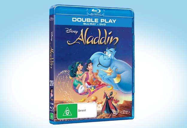 Win 1 of 10 Aladdin Packs!