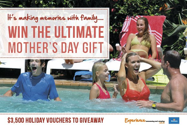 WIN a $2,000 holiday voucher or 1 of 3 $500 holiday vouchers!