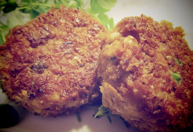 Weetbix, Tuna and Vegetable Patties