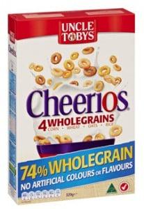 Uncle Tobys Wholegrain Cheerios