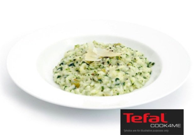 Mushroom & Spinach Risotto Recipe for Tefal COOK4ME