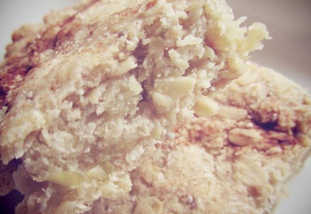 Sugar free apple and oat slice recipe