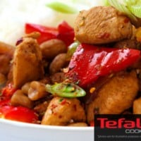 Spicy Chicken & Capsicum Stir Fry Recipe for Tefal COOK4ME