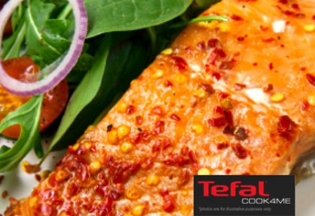 Steamed Sweet Chilli Salmon for Tefal COOK4ME