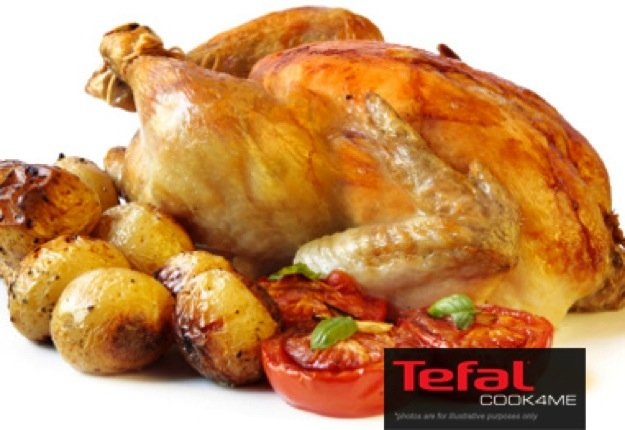 Whole Chicken with Potato & Herbs Recipe for Tefal COOK4ME