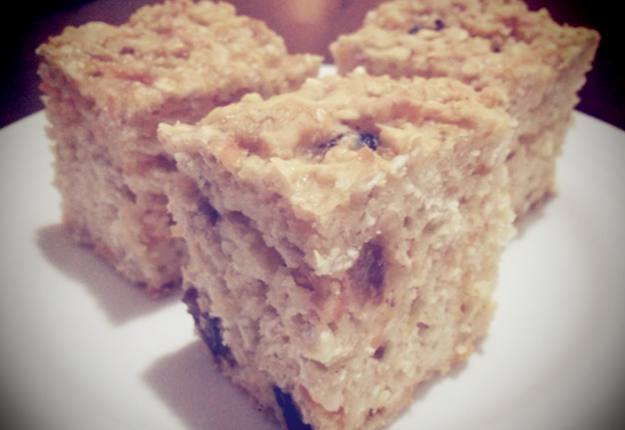 Carrot and apple slice