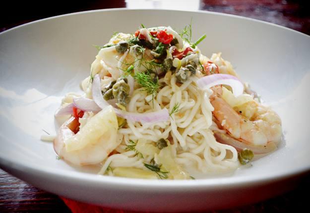 Chilli and Prawn Spaghetti Recipe