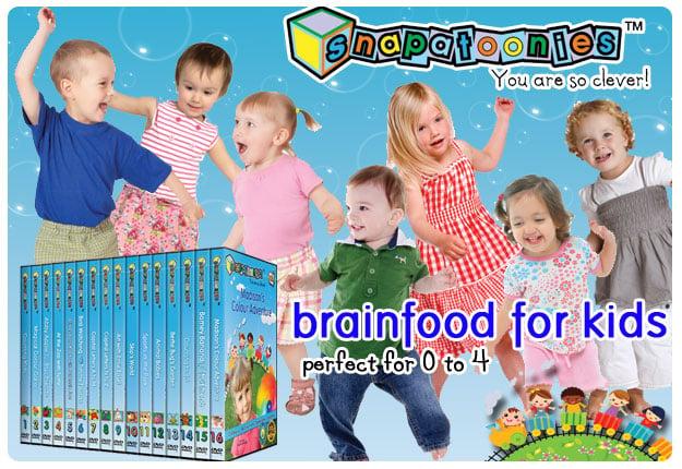 Win 1 of 10 Snapatoonies educational DVD prize packs