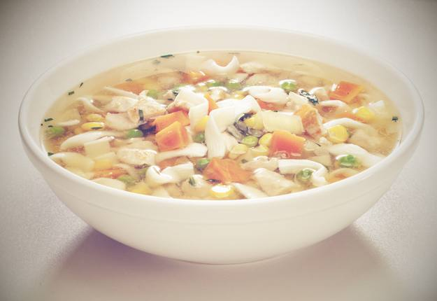 Low Calorie Chicken Noodle Soup
