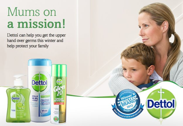 Dettol Healthy Winter Home