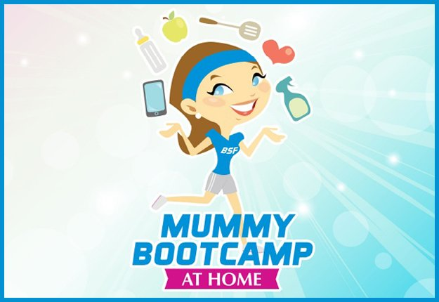 Win 1 of 5 Mummy Bootcamp @ Home prize packs