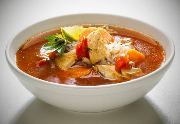 Tom Yum Kung-Thai Spicy Soup Stock Photo, Picture And Royalty Free ...
