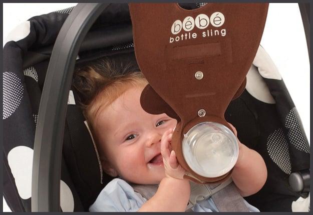 Win 1 of 15 Brown Monkey Bebe Bottle Slings