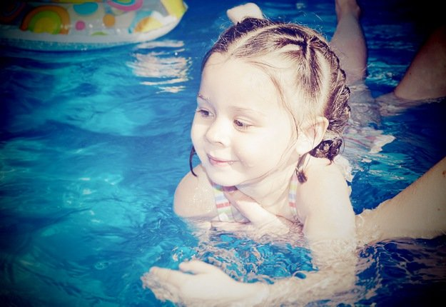 Water safety and confidence - start with swimming lessons!