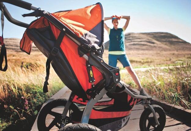 Win a Britax BOB Revolution SE jogging stroller