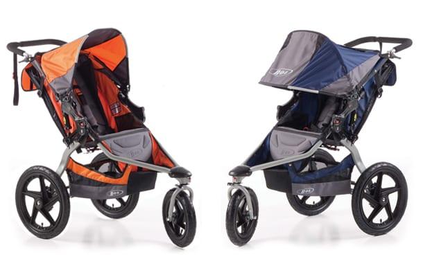 Britax-strollers-orange-blue