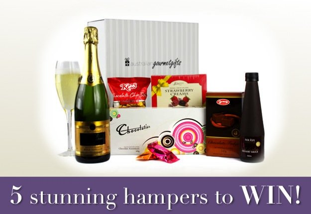 Win 1 of 5 Christmas in July Hampers