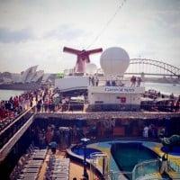 That's the spirit! Carnival Spirit cruise