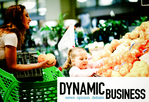 mother_and_child_in_supermarket_dynamic_business_logo