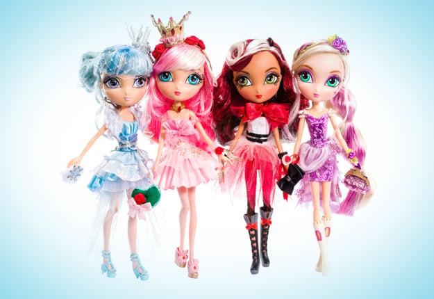 WIN 1 of 24 La Dee Da Fairytale Dance Party Dolls