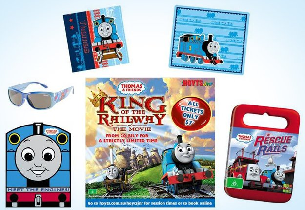 Win 1 of 5 Thomas & Friends prize packs