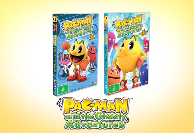WIN 1 of 12 Pac-Man Prize Packs